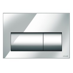 PRESTO flush button chrome gloss