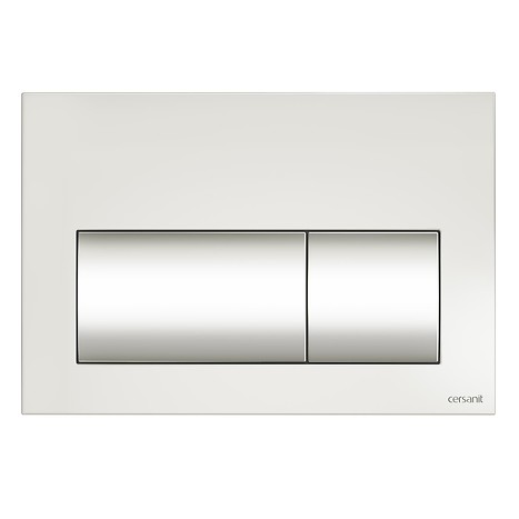PRESTO flush button white