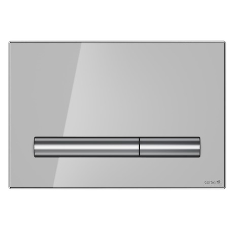 PILOT flush button grey glass