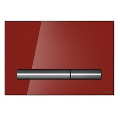 PILOT flush button red glass