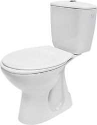 PRESIDENT 020 WC compact set with PRESIDENT polypropylene, antibacterial toilet seat
