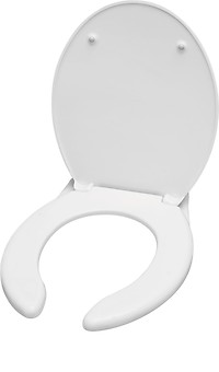 ETIUDA duroplast, antibacterial toilet seat for persons with disabilities