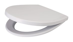 DELFI polypropylene, soft-close toilet seat