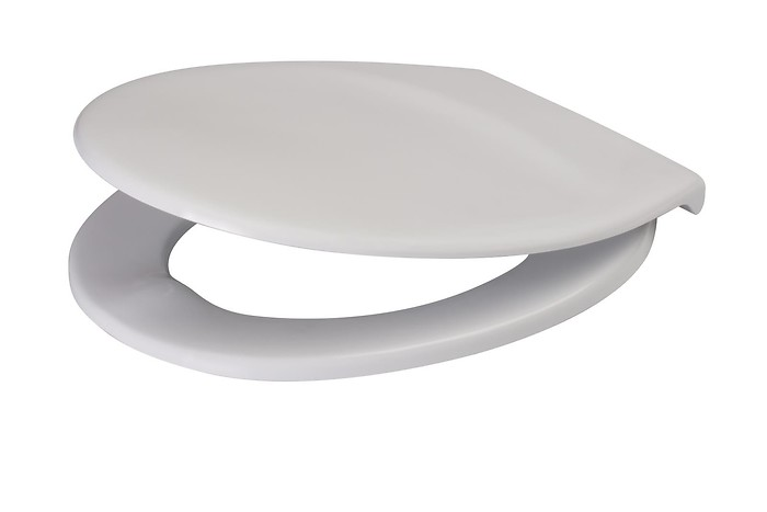 PRESIDENT duroplast, soft-close and easy-off toilet seat