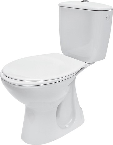 PRESIDENT 020 WC compact set with duroplast, antibacterial toilet seat