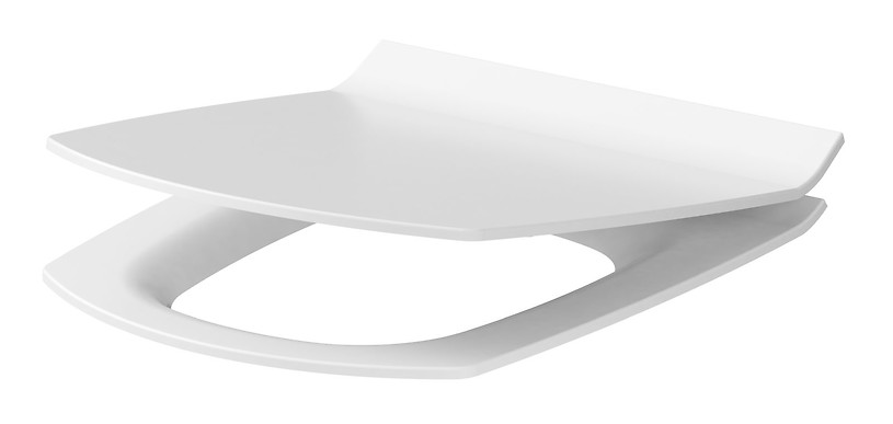 CARINA slim duroplast, soft-close and easy-off toilet seat