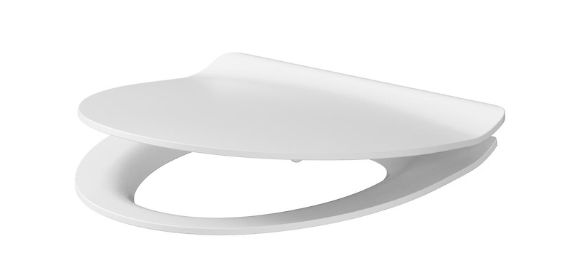 PARVA slim duroplast, soft-close and easy-off toilet seat
