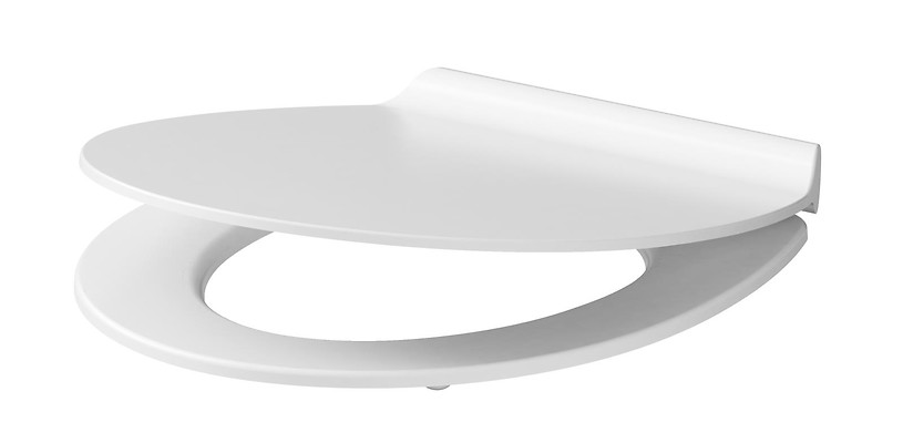 UNIVERSAL slim duroplast, soft-close and easy-off toilet seat