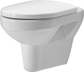 OLIMPIA wall hung bowl without toilet seat