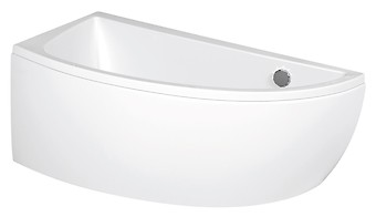 NANO 140 bathtub asymmetric right