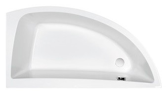 NANO 140x75 bathtub asymmetric right