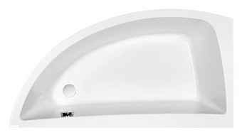 NANO 140x75 bathtub asymmetric left
