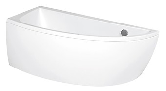 NANO 150x75 bathtub asymmetric left