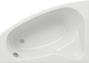 SICILIA 140 bathtub asymmetric left