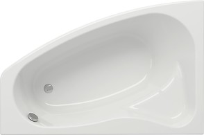 SICILIA 150 bathtub asymmetric left