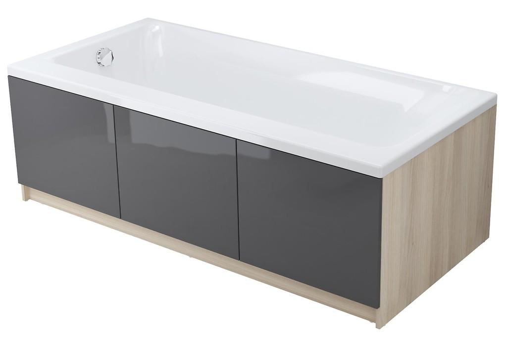 Smart 170x80 Bathtub Asymmetric Right Side S301 116 Where To Buy Cersanit