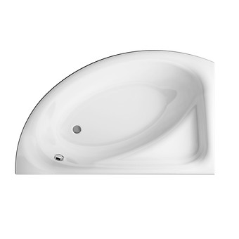 MEZA 160 bathtub asymmetric right