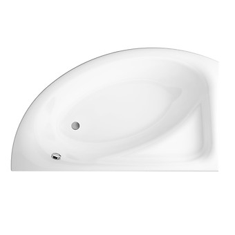 MEZA 170x100 bathtub asymmetric left
