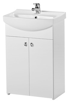 BIANCO cabinet for CERSANIA NEW 55 washbasin