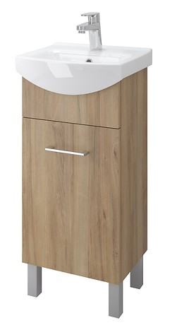 OLIVIA cabinet for CERSANIA NEW 40 washbasin nut