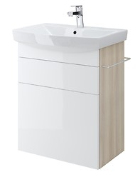 SMART cabinet for CARINA 60 washbasin white front