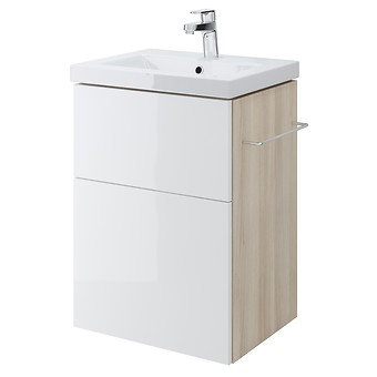 SMART 50 washbasin cabinet white front