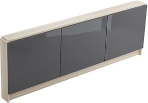 SMART 160 front casing for bathtub grey front