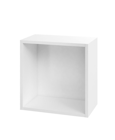 COLOUR 40 wall hung cabinet white corp