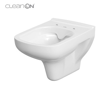 COLOUR wall hung bowl CleanOn without seat