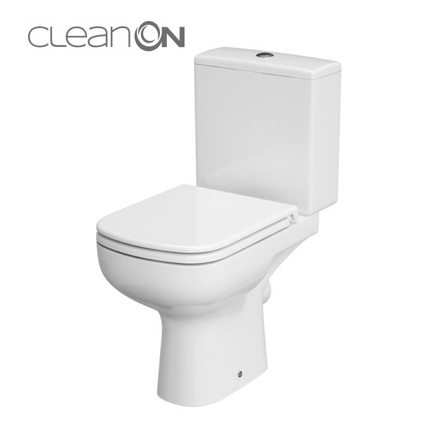 Colour 010 Wc Compact Cleanon 3 5l Without Seat K103 026 Wc
