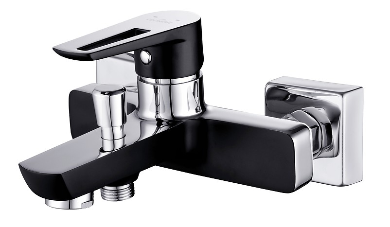 MILLE BLACK bathtub-shower faucet