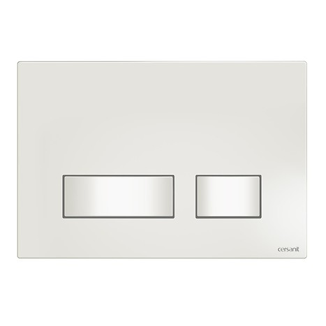 MOVI flush button white