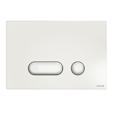 INTERA flush button white