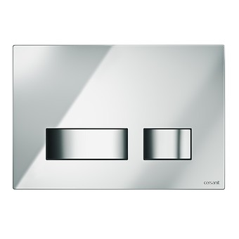 MOVI flush button chrome gloss