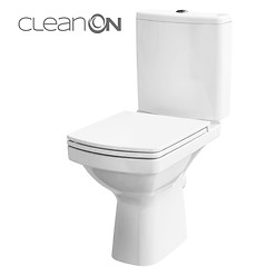EASY 011 WC compact NEW CleanOn 600 with duroplast, antibacterial, soft-close and ...