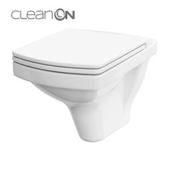 EASY wall hung bowl NEW CleanOn without seat