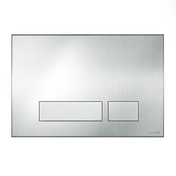 TORRO flush button vandal resistant brushed steel matt
