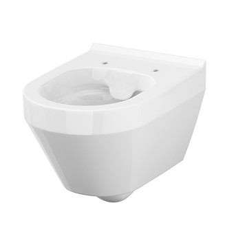 CREA wall hung bowl CleanOn oval without toilet seat