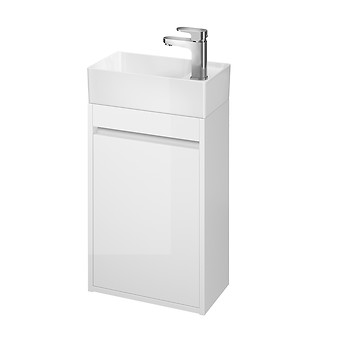CREA 40 washbasin cabinet white