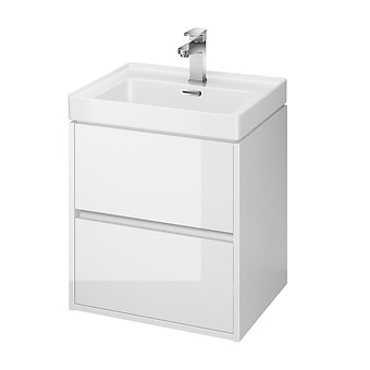 CREA 50 washbasin cabinet white