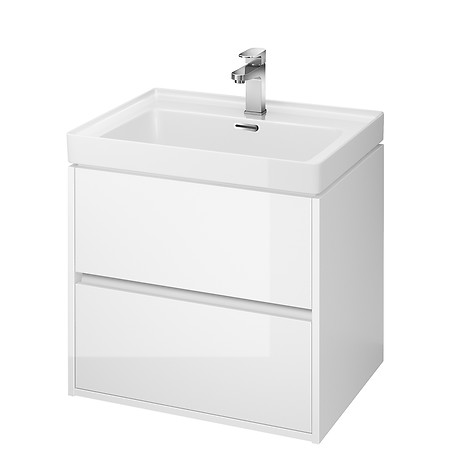 CREA 60 washbasin cabinet white