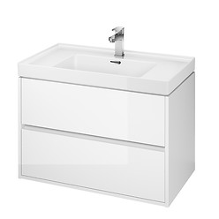 CREA 80 washbasin cabinet white