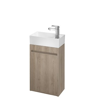 CREA 40 washbasin cabinet oak