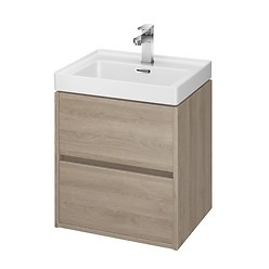 CREA 50 washbasin cabinet oak