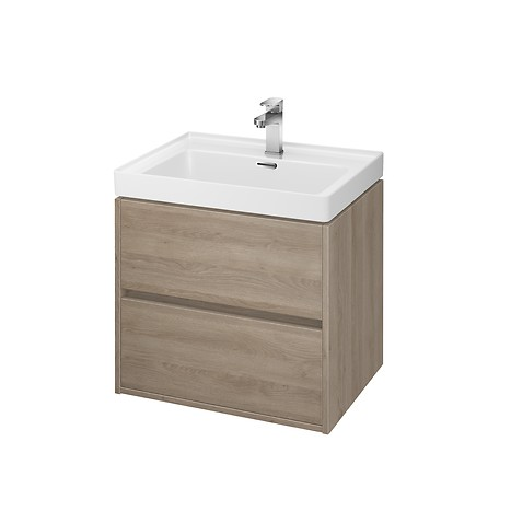 CREA 60 washbasin cabinet oak