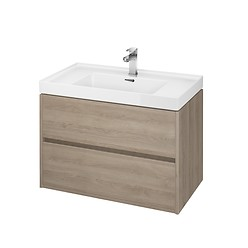 CREA 80 washbasin cabinet oak