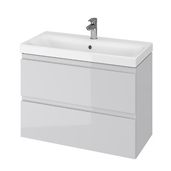 MODUO SLIM 80 washbasin cabinet grey