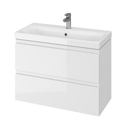 MODUO SLIM 80 washbasin cabinet white