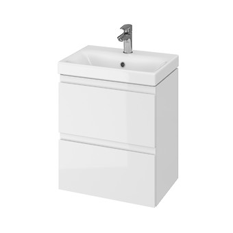 MODUO SLIM 50 washbasin cabinet white