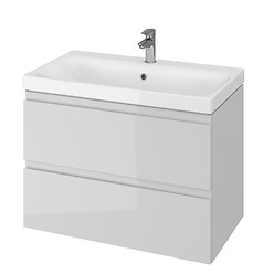 MODUO 80 washbasin cabinet grey